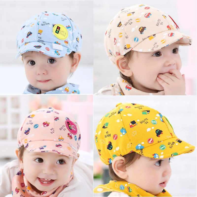 995ac203b1e 2018 Hot Sale Baby Hat Kid Boy Girl Toddler Infant Hat Little Car Baseball  Hat Summer