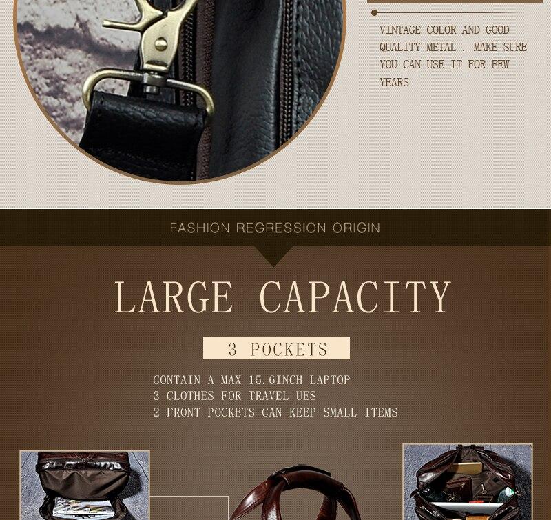 HTB1c8cKX7fb uJkSmFPq6ArCFXaW Men Oil Waxy Leather Antique Design Business Briefcase Laptop Document Case Fashion Attache Messenger Bag Tote Portfolio 7146