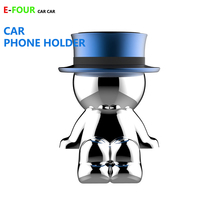 55% OFF PROMOTION ITEMS Original Price 8.88 now only sale 3.99 Car Ornament Doll Phone Holder Lost lost for flow Metal