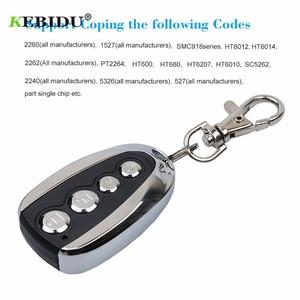 Image 4 - KEBIDU 433Mhz Rolling Code Remote Duplicator Garage Door Remote Control Opener Electric Face to Face Car Gate Transmitter