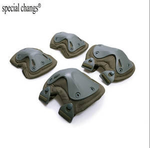 Tactical paintball protection knee pads & elbow pads set