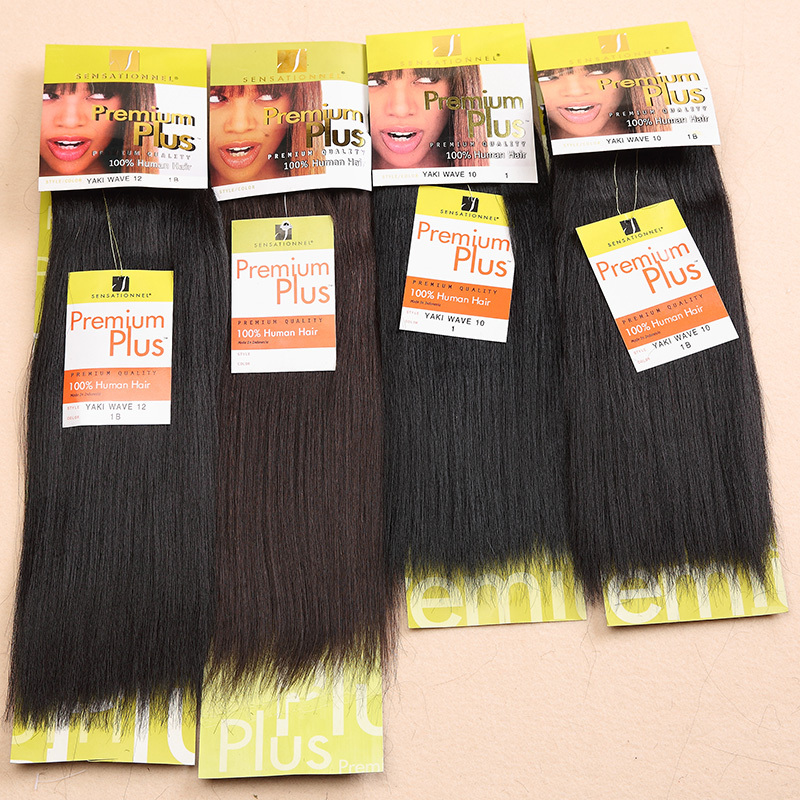 1PC Free Shipping Premium Plus Yaki Straight Mixed Hair ...