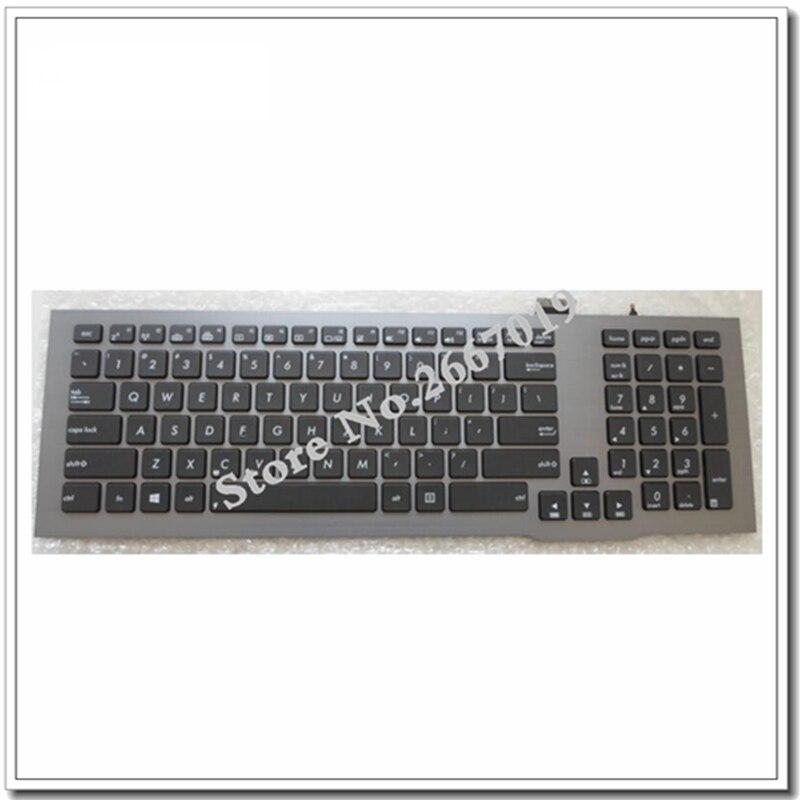 New For ASUS G75 G75V G75VW G75VX UK backlit keyboard Compatible for US