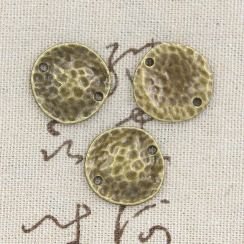 a7fca84b95b9 8pcs Charms corrugated plate 16 15mm Antique Making pendant fit,Vintage  Tibetan Bronze,DIY bracelet necklace
