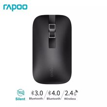 New Rapoo M550 Multi-mode Wireless Mouse Switch between Bluetooth 3.0/4.0 and 2.4G for Three Devices Connection(China)