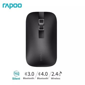 Nowy bezprzewodowy przełącznik myszy Rapoo M550G między Bluetooth 3 0 4 0 i 2 4G dla połączenia trzech urządzeń tanie i dobre opinie CN (pochodzenie) Bezprzewodowa na Bluetooth 120g 1300 Optoelektroniczne Manipulatory kulkowe Dla palców Baterii Sep-11