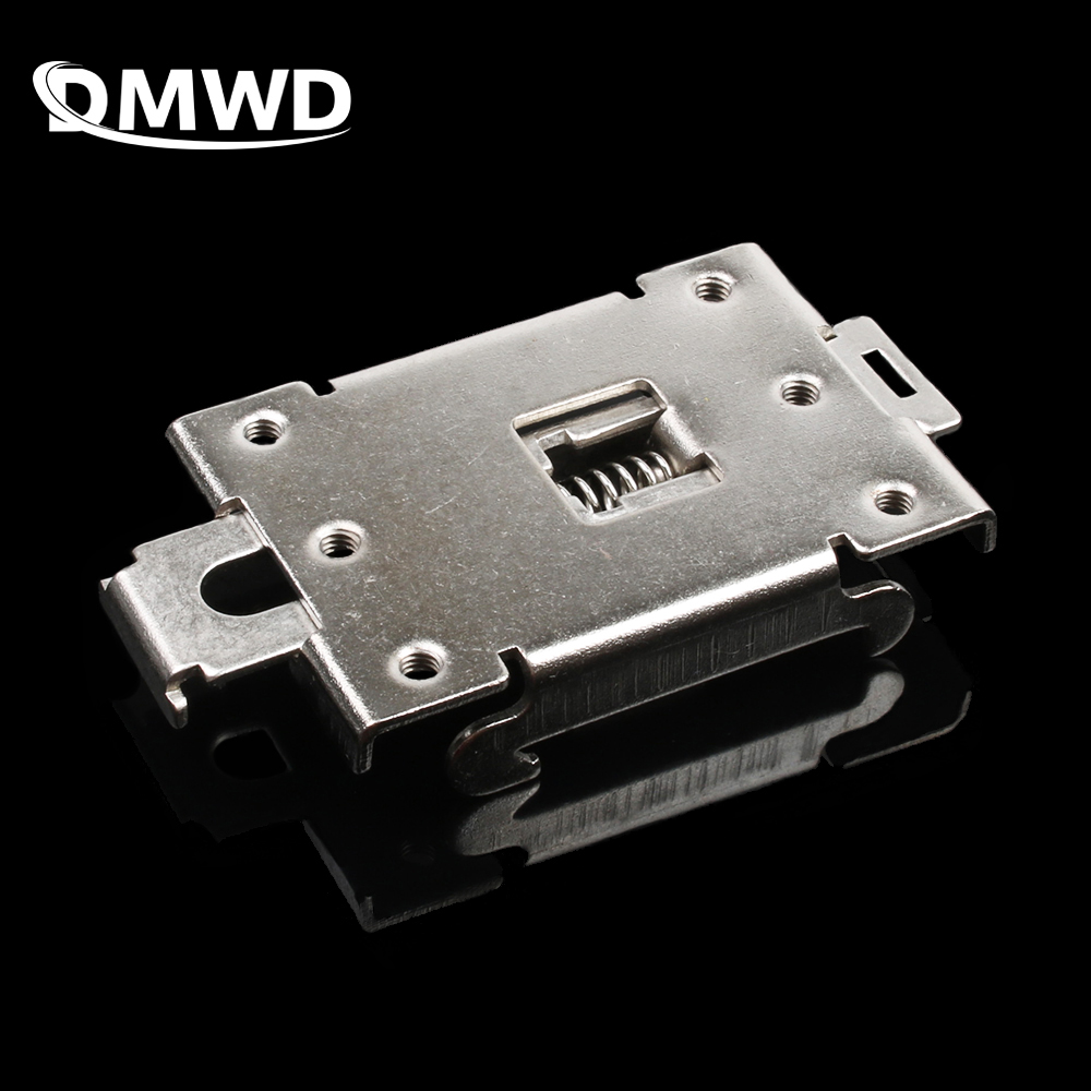 1PCS single phase <font><b>SSR</b></font> <font><b>40DA</b></font> 25DA AA DD 35MM DIN rail fixed solid state relay clip clamp image