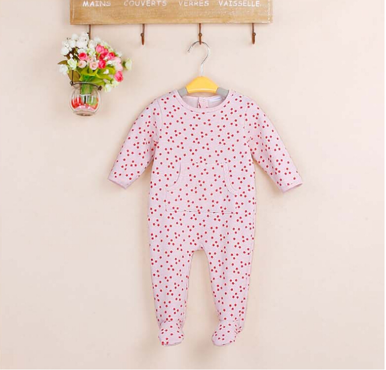 baby clothing newborn rompers fleece polka dot baby girl clothes long-sleeves jumpsuit multi color pink rompers 0-6M mother nest 3sets lot wholesale autumn toddle girl long sleeve baby clothing one piece boys baby pajamas infant clothes rompers