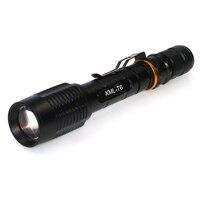 Mocna Latarka 5000 lumenów CREE XML-T6 LED Latarka latarki Taktyczne 5 tryb camping polowanie piesze wycieczki latarnia na 2x18650