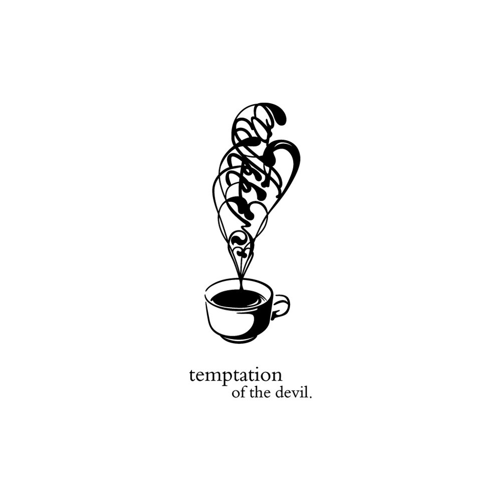 New Arrival Beautiful Design Coffee Mugs Tea Coffee Art Decal Vinyl Wall  Stickers Kitchen Restaurant Pub Decor High Quality