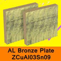 La barre de panneau de la feuille ZCuAl03Sn09 d'alliage de cuivre d'aluminium de plaque de Bronze d'al particulièrement pour l'eau de mer résiste à la construction de bateau de chaudière de Corrosion