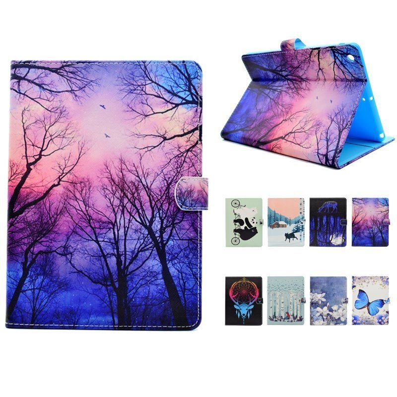 TPU painted flat shell for i pad case cover for i pad 5/6 Mini1/2/3/4 Pro 10.5 9.7 UM