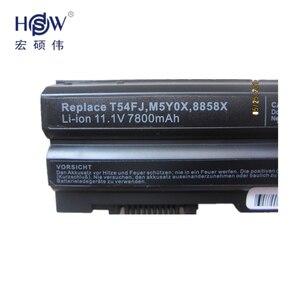 Image 3 - を HSW 9cell New 充電式バッテリーの Inspiron 15R (5520) 15R (7520) 17R (5720) 17R (7720) M5Y0X P8TC7 P9TJ0 PRRRF T54F3 T54FJ YKF0