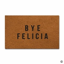 Indoor Outdoor Entrance Mat Bye Felicia Non-slip Doormatfor Use 23.6x15.7 Inch