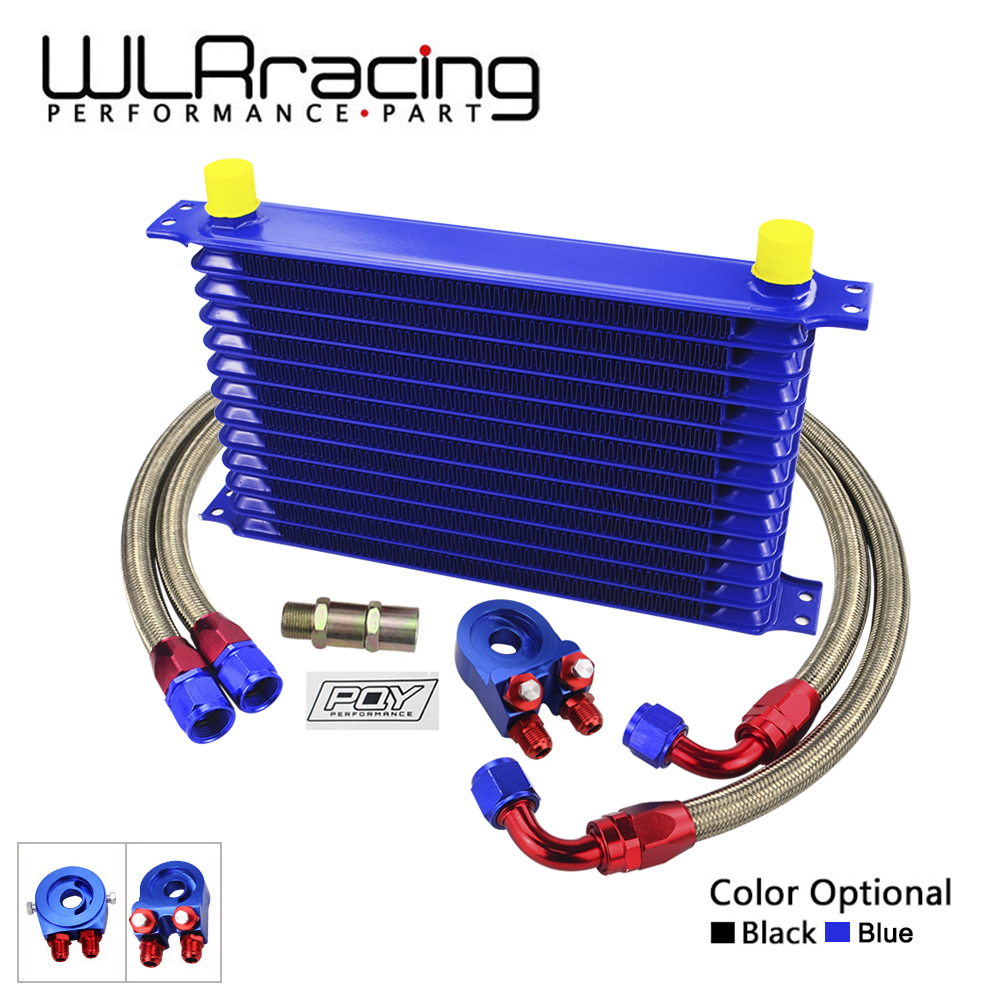 Wlring Universal 13rows Oil Cooler Kit Filter Sandwich Suzuki Katana Karpet Mobil Comfort Deluxe 12mm Car Mat Full Set Adapter Stainless Steel Braided Hose With Pqy Sticker Box