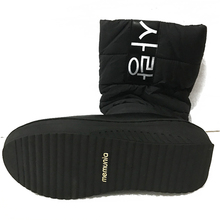 MEMUNIA SIZE 35-44 Ladies snow boots wedges heels slip on women winter boots fur inside mid calf boots sweet shoes