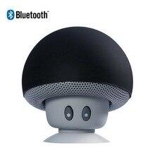 Mini altavoz inalámbrico con Bluetooth, altavoz estéreo portátil resistente al agua con forma de seta y micrófono para teléfono móvil y ordenador