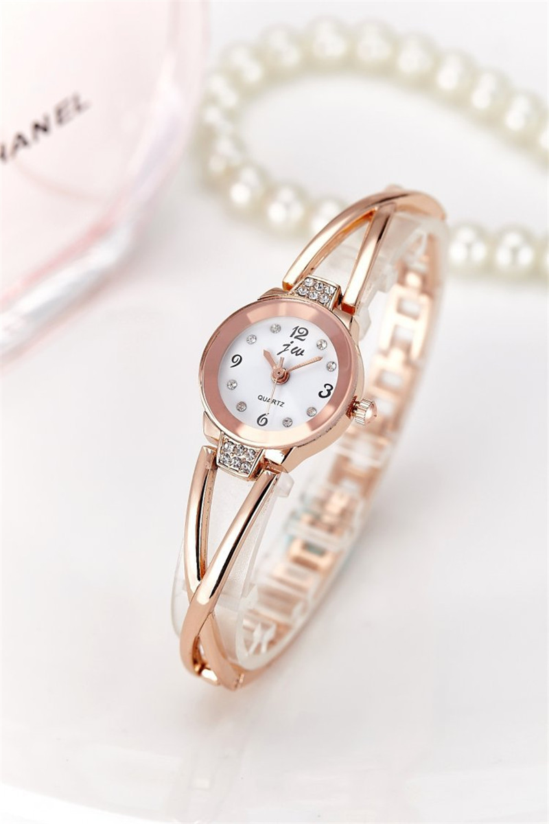 New Fashion Rhinestone Watches Women Luxury Brand Stainless Steel Bracelet watches Ladies Quartz Dress Watches reloj mujer Clock 22