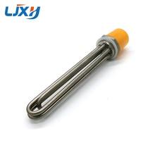 """LJXH tam 304 paslanmaz çelik su ısıtma elemanı 1 1/4 """"İçin elektrikli daldırma isıtıcı güneş enerjili su deposu 220V 380V"""