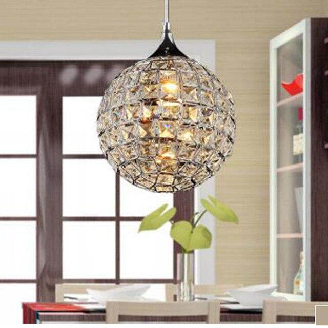 Moderno led k9 luce del pendente di cristallo da cucina hall hotel ...