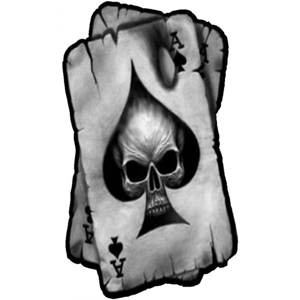 Laminated Car Sticker Skull Spades A Skull Sticker Car Decal Car Or Truck Window Laptop Decal Sticker
