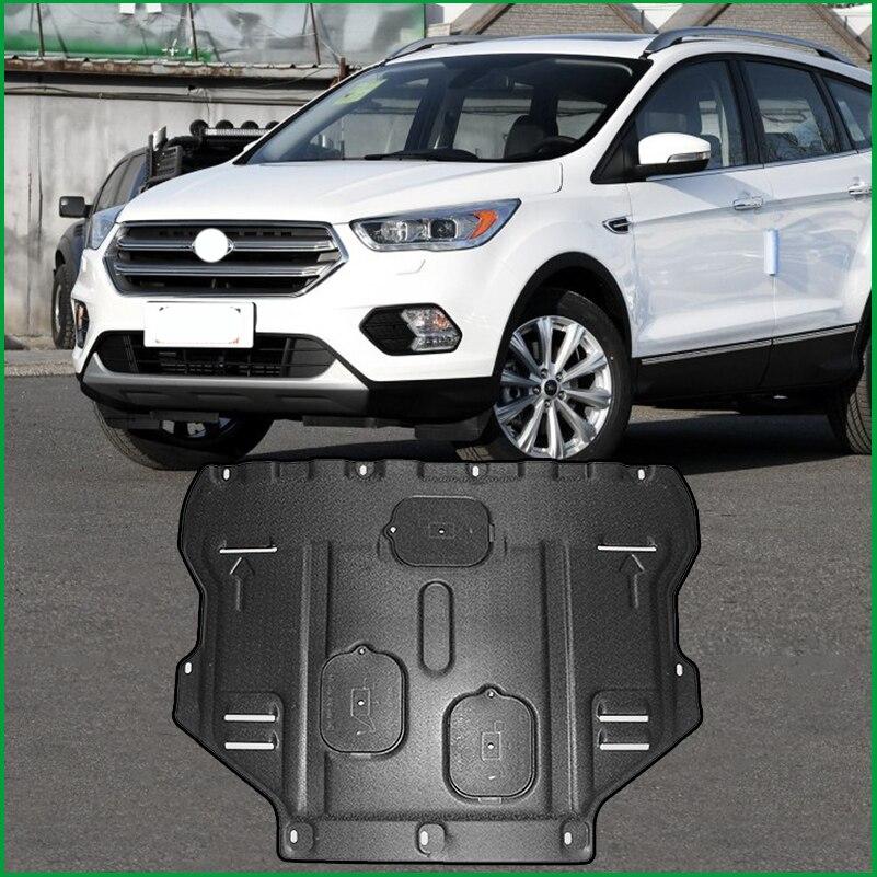 Pour Ford Kuga Escape 2013 2014 2015 2016 2017 moteur en acier plastique protection protection plaque de protection garde-boue moteur garde voiture style