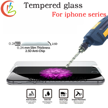 9H 2 5D for iPhone 5S Tempered Glass for iPhone 6S 6 7 7Plus screen protector