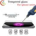 Prémio de vidro temperado para iphone 6 7 6 plus 7 mais protetor de tela para iPhone4 5 5S 6 s Tela de Vidro à prova De Explosão 9 H Duro