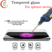 Premium Tempered Glass for iPhone 6 7 6Plus 7Plus screen protector for iPhone4 5 5s 6s