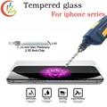 Prima de cristal templado para iphone 6 7 6 plus 7 plus protector de pantalla para iPhone4 5 5S 6 s Pantalla de Cristal a prueba De Explosión 9 H Duro