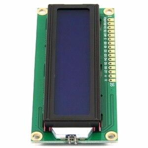 Image 3 - LCD1602 1602 מודול 5 V lcd 1602 כחול מסך תצוגת LCD אופי מודול כחול Blacklight חדש לבן קוד