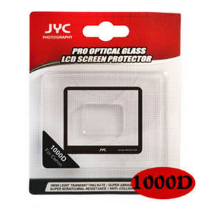 JYC Camera LCD Screen Protector Cover For EF Canon EOS 1000D SLR Camera