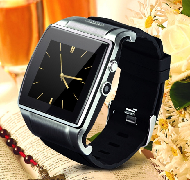 Bluetooth Smart Watch with OGS HD touch screen For iphone IOS Android Phone Wrist Wear Support Sync smart clock Sim Card no 1 d3 smart watch phone watch bt3 0 1 22 touch screen ips mtk626 micro sim 32mb rom uv detecion for android ios black