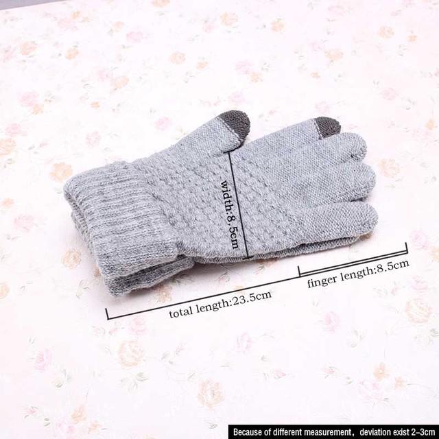 Stretch Knit Gloves