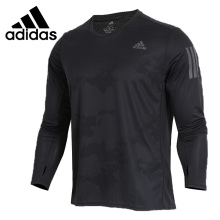Новое поступление, оригинальные мужские футболки с длинным рукавом, спортивная одежда