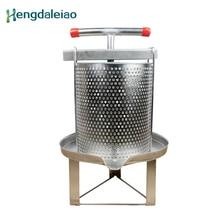 Инструменты для пчеловодства, Ручной пресс-машина для воска и меда