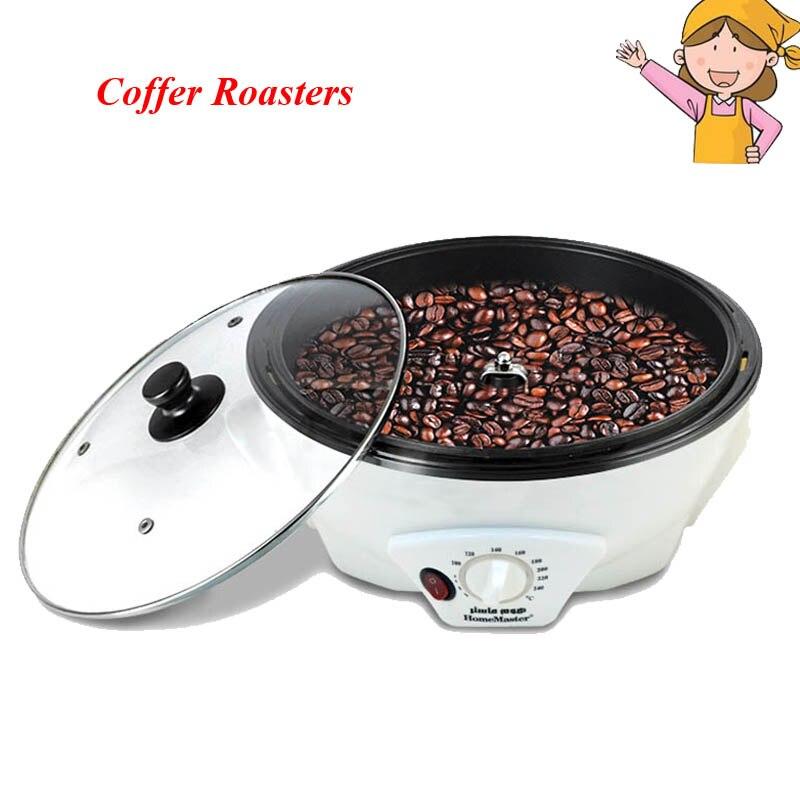 Household Coffee Roaster New Coffee Bean Baking Machine 220V Durable Coffee Bean Roaster for Coffee Lovers SCR-301