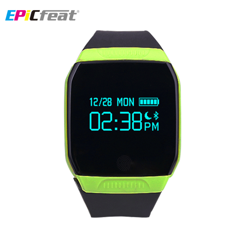 EPiCfeat Bluetooth Sport font b Smart b font font b Watch b font Android iOS Waterproof