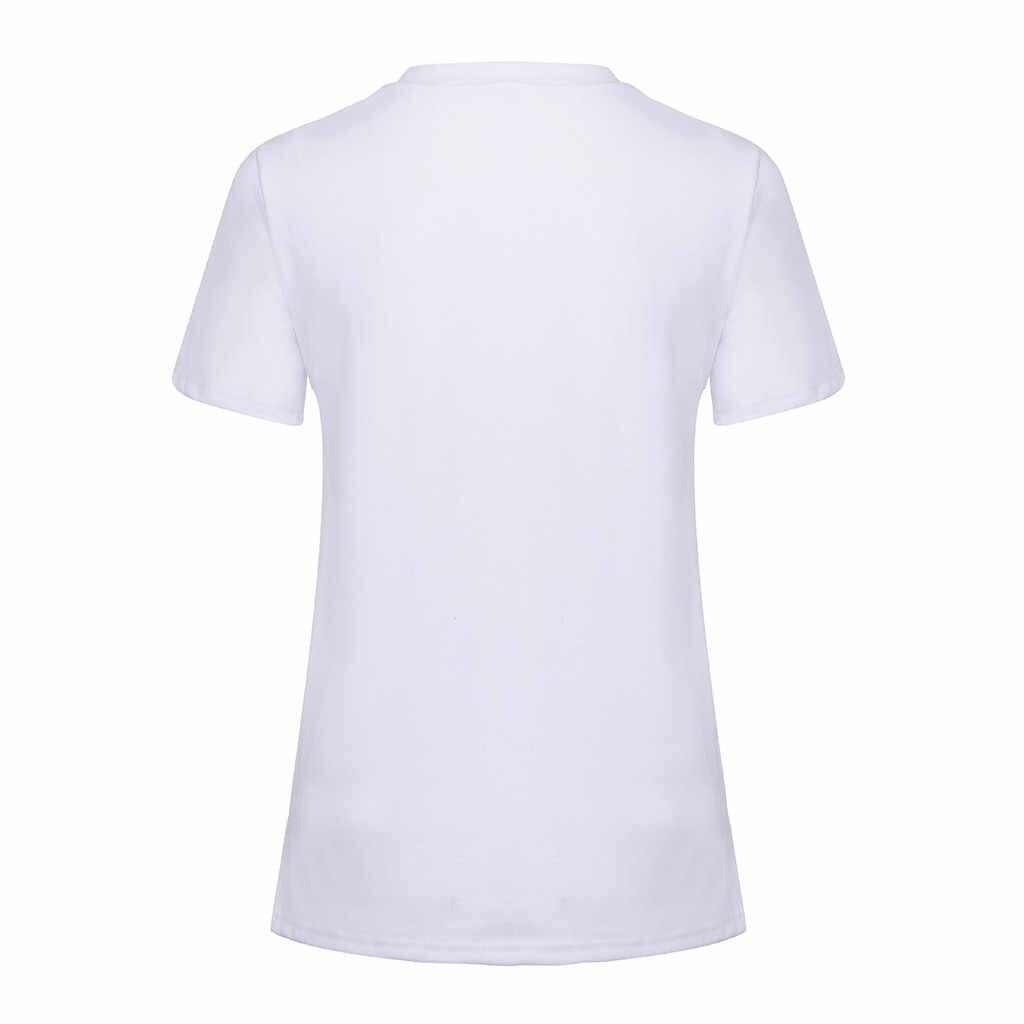 MUQGEW ropa de lactancia maternidad lindo divertido patrón de impresión Casual de manga corta Camiseta embarazada Camisetas Bebé está llegando camiseta