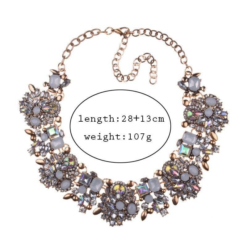 Ogrlice s velikim ogrlicama Žene ogrlice s velikim čizmama, - Modni nakit - Foto 3