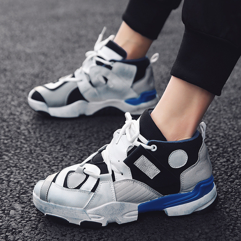 promo code 3d227 f189f US $14.95 32% OFF|INS Vintage dad sneakers kanye west dirty old 500 light  breathable men casual shoes zapatillas hombre casual tenis masculino-in ...