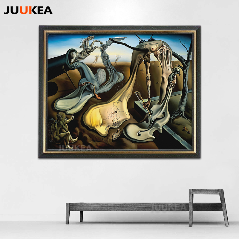 Canvas Print Painting Salvador Dali Daddy Long legs of The