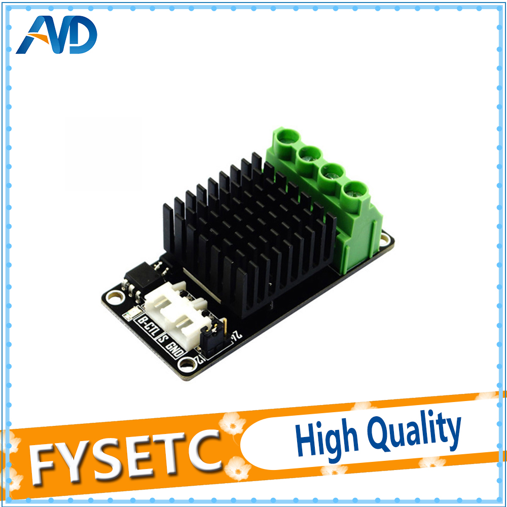 Heat Bed Power Module Expansion Hot Bed MOS Tube High Current For 3D Printer UE