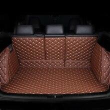 Personalizado esteiras mala do carro para Jeep todos os modelos Cherokee Grand Cherokee wrangler compass patriot Renegade styling acessórios do carro