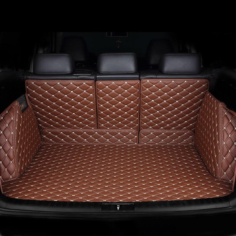 Tapis de coffre de voiture sur mesure pour Jeep tous les modèles boussole wrangler patriot Cherokee Grand Cherokee Renegade accessoires de style de voiture