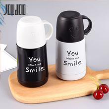 JOUDOO 210ml Cartoon Thermos Stainless Steel Vacuum Flask Cup Thermal Bottle Insulated Tumbler Coffee Milk Mug 35