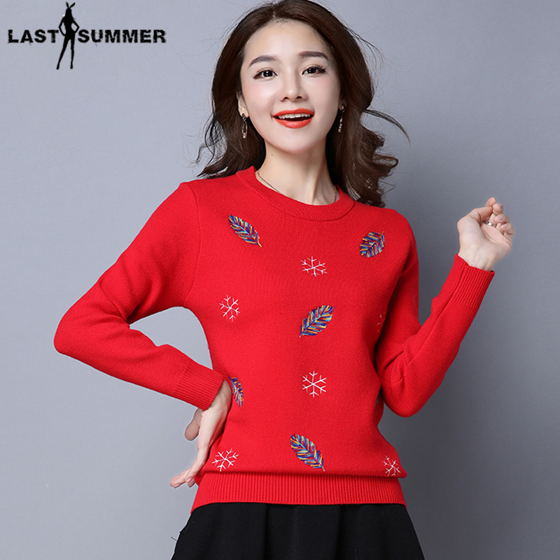 Free Shipping New Fashion 2019 Autumn Winter For Womens Cashmere  Sweaters Thick Loose Warm Knitted Sweet Pullovers Sweaters