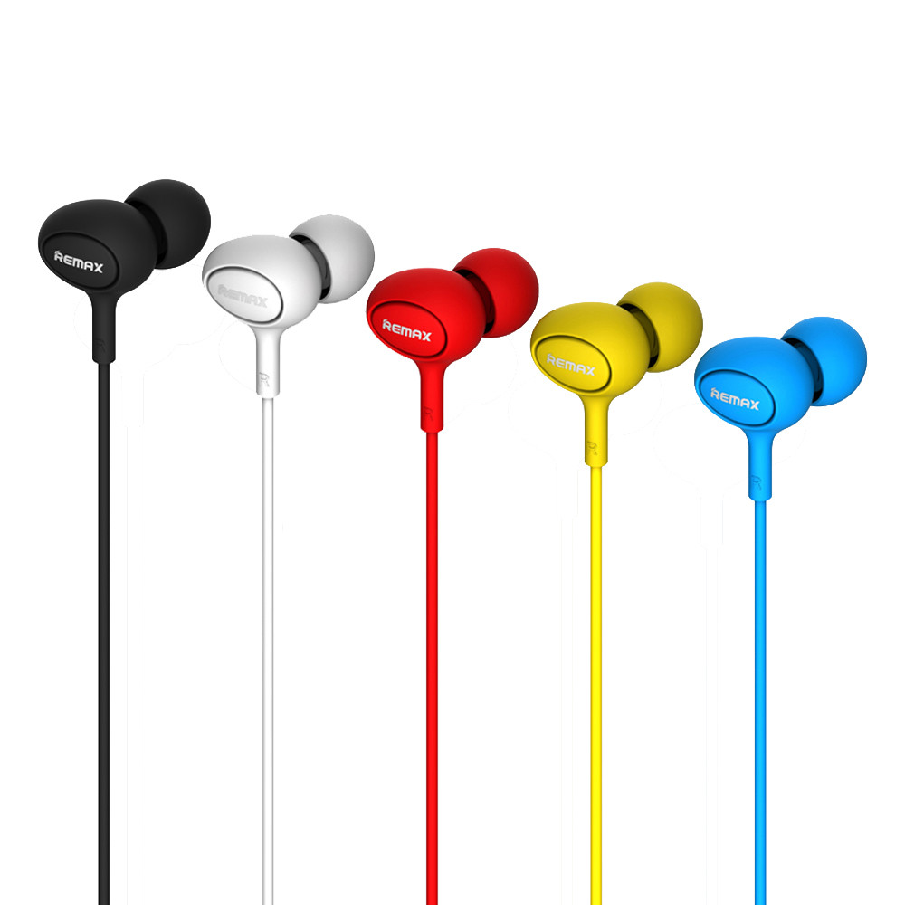 New REMAX Fashion RM-515 Universal Candy In-ear Earphone Headphone With Mic td817 dropship аудио наушники remax наушники remax 515 blue