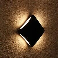 LED wall light Porch lights Modern Waterproof IP55 for bathroom garden outdoor decor lighting Aluminum wall lamp 12w LED 4 Beams