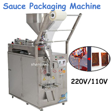 220v/110v 400w Automatic Liquid Sauce Packaging Machine Seasoning Sealing Machine Liquid Packing Filling Machine YT-206